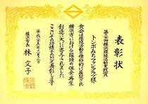 横浜環境活動実践賞          (2013年3月3日)
