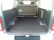 NV350 ハイエース カーテン 間仕切り 車中泊 トランポ