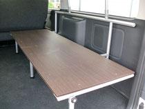 ハイエース ベッドキット NV350キャラバン トランポ ベッドキット 棚