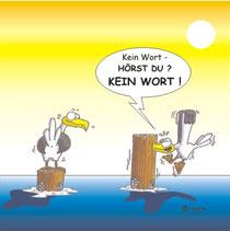 Ein Möwen-Comic