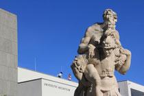 visita guidata a Salisburgo - statue nei giardini Mirabell