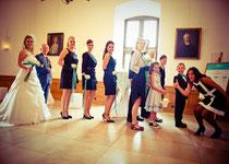 Hochzeitsplanerin im Einsatz