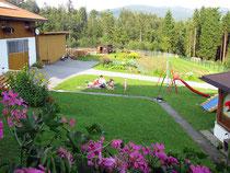Garten Fewo Haus Spannbauer