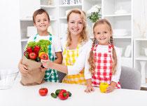 Kochen mit der Familie