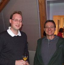Vertreter der reformierten Kirchgemeinde als Zaungäste: Pfarrer Andreas Bosshard (links) und Daniel Tanner, Mitglied der Pfarrwahlkommission