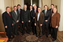 Die CDU-Landesgruppe mit Bundesminister Dr. Peter Ramsauer, PSt Enak Ferlemann und dem Schleswig-Holsteinischen StS Heinz Maurus