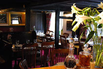 The Plume of Feathers restaurant in Crondall near Fleet