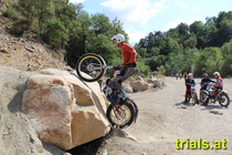 Highlight 2013: Days of Trials in Limberg. Walther Luft auf Luft-Puch 250. Image: www.trials.at