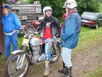 2005: 2. Platz im Euro-Cup Pre65 Pre-Unit. Image: www.trials.at, Klassik-Trial Ebenau