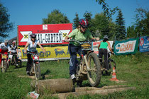 Nikole Schmidhofer beim Sommertraining in Ohlsdorf. Image: Trialgarten
