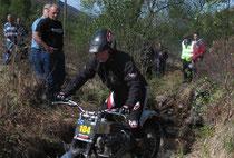 Steve Saunders, Triumph 350 Twin