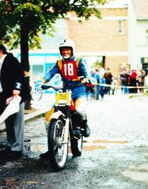 1980: Jahreis beim WM-Lauf in Tschechien