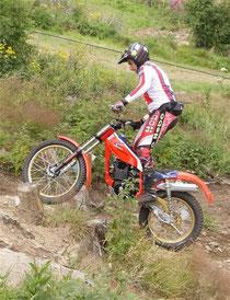 2011: M. Adamec auf Snezzy-Honda. Image: R. Georgieff
