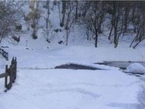 Schnee rund um Caglio