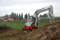 Umbauarbeiten im Trialgarten Ohlsdorf