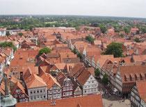 Über 400 Fachwerkbauten befinden sich in Celle. Quelle: www.wikipedia.at