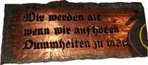 Die Lebensphilosophie von R. Munstermann. Image: E. Diestinger