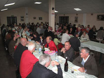 Campo Canavese, gemeinsames Dinner