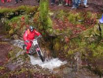 2006: Braun Trialfrust aufgrund von Fehleinschätzung der SSDT. Image: www.trials.at