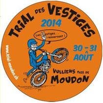Trial des Vestiges, Moudon, Sui: 30.-31. 8.2014