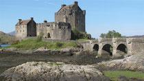 Filmkulisse für den Highlander: Eilean Donan Castle, Image: Alfred 2011