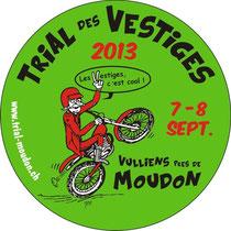 Trial des Vestiges, Moudon, Sui: 7.-8. 9.2013