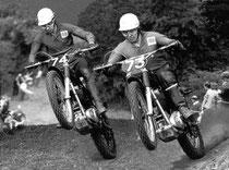Don und Derek Rickman, Image: http://www.motorcyclemuseum.org/