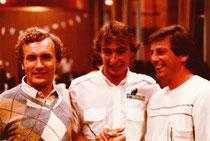 1981: WM Gefrees Yryo Vesterinen, Gilles Burgat, Emil Jahreis