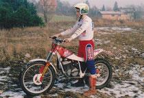 1992: Markus auf Fantic 305. Archiv Adamec.