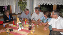 Salzstiegl 2013: Jill & Mick Andrews, Robert Aichholzer, Regina & Friedl Kaltenegger