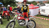 """Bultaco-Pat"" Patrick Frei, Webmaster des TWN-Club Zürich, Trial"