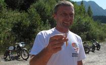 Bis zum beidseitig gespitzten Bleistift perfekt vorbereitet: Organisator Frank Ortner
