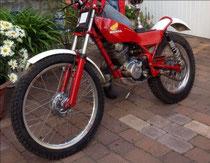 stolen #2: Honda Seeley 200