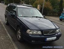 Auto Front Motorhaube Schnauze abschneiden als Gartendeko Volvo V 70