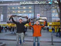 Der Schal war in Dortmund