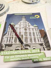 Kommunalwahlprogramm Memminger Stadtratswahl 2014