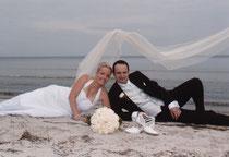 Hochzeit am Strand von Sellin