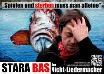 """Flyer/Plakat zum Programm """"Spielen & sterben muss man alleine"""""""