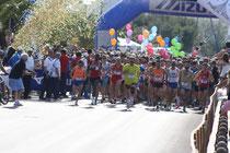 La partenza della 5^ edizione (foto Podisti.net)
