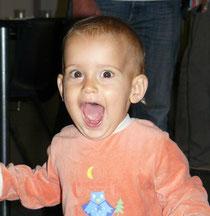 Notre plus jeune spectateur de la soirée !!