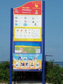 DLRG bewachter Strand