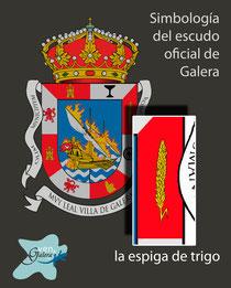 Escudo oficinal de Galera (Granada) - la espiga