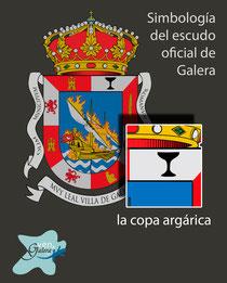 Escudo oficinal de Galera (Granada) - la copa argárica