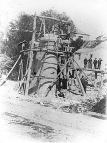 Pilar de piedra