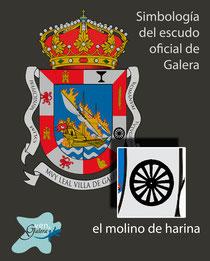 Escudo oficinal de Galera (Granada) - el molino