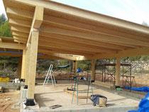 <Estructura de madera