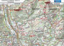 Kompasskarte 09 Kaisergebirge
