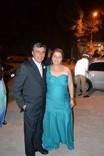 Eliot y Tere, padres de Sabrina