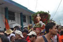 San Jerónimo y la procesión