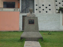 "busto ""Julio C. Tello"""